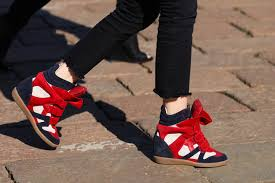 "Isabel Marant Wedge Sneakers ""it"" shoes"