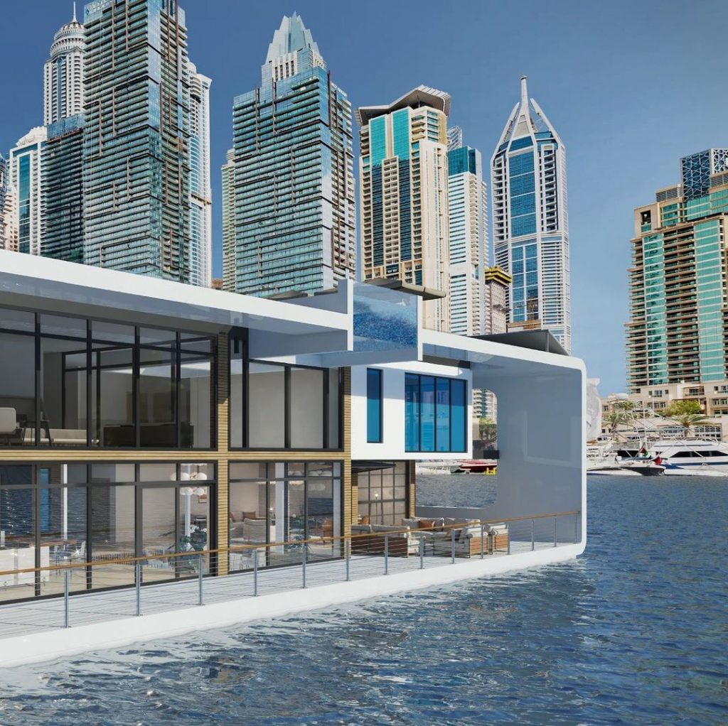 Could This Luxurious Floating Resort in Dubai Be the Future of Travel?