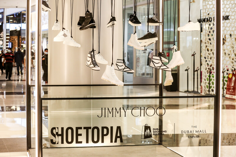 The Shoetopia Island in Dubai Mall Is Every Shoe Lovers' Dream Come True
