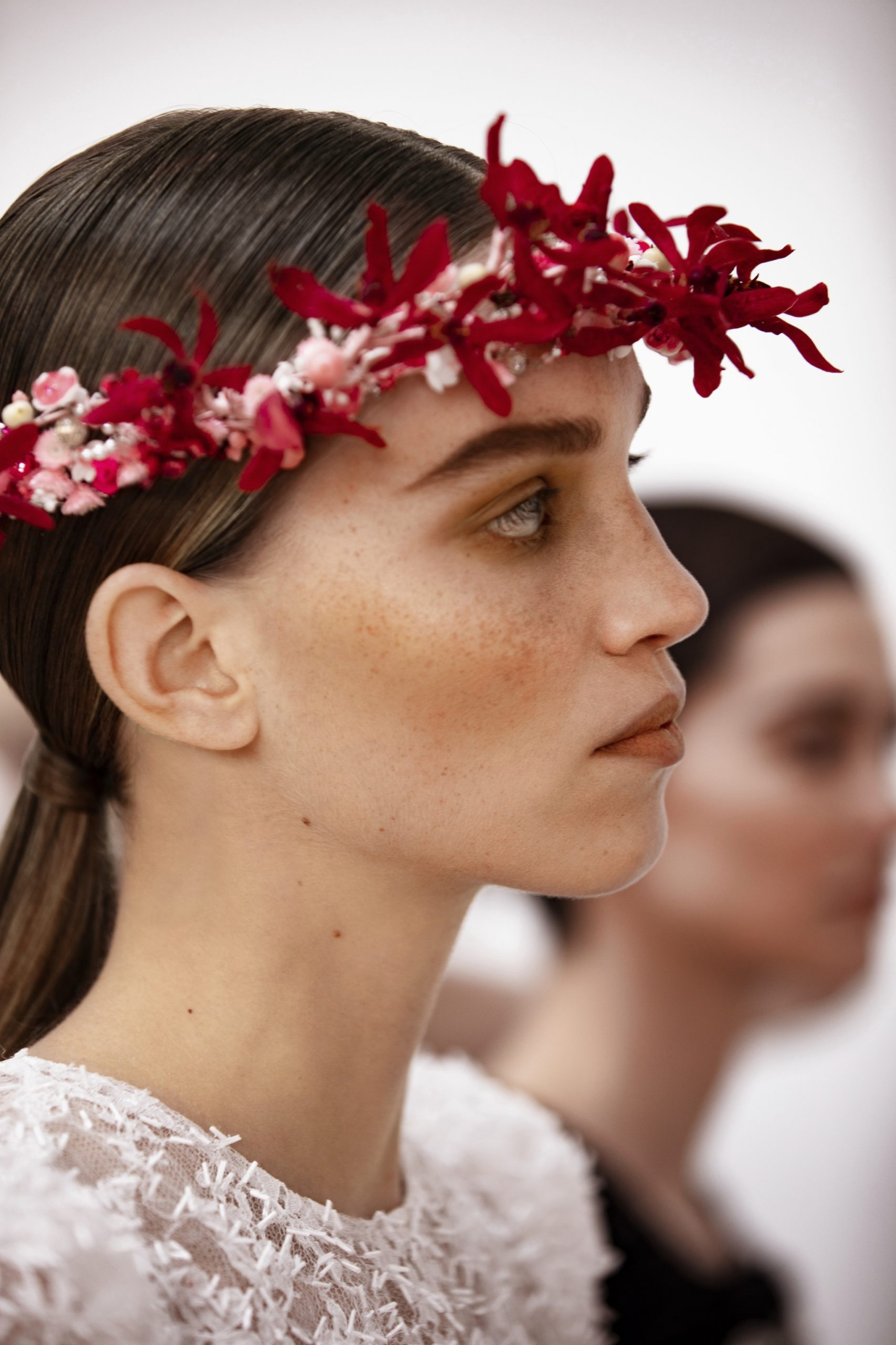 Chanel Haute Couture Spring Summer 2021 beauty