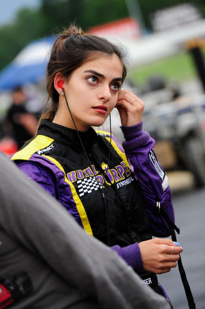 Model Toni Breidinger Makes History as NASCAR's First Arab-American Female Driver