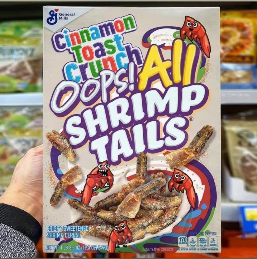 ICYMI: Shrimp Tails Found in a Cinnamon Toast Crunch Box Are Now Being DNA Tested