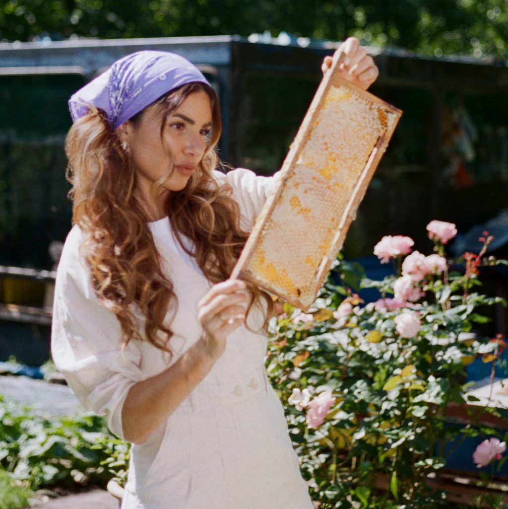 Why Is Honey the Secret to Beautiful Hair? Negin Mirsalehi Has the Answers