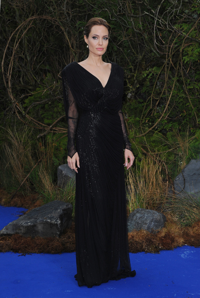 Angelina Jolie's Most Memorable Red Carpet Dresses