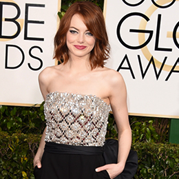 The Best-Dressed Celebrities at 2015 Golden Globe Awards