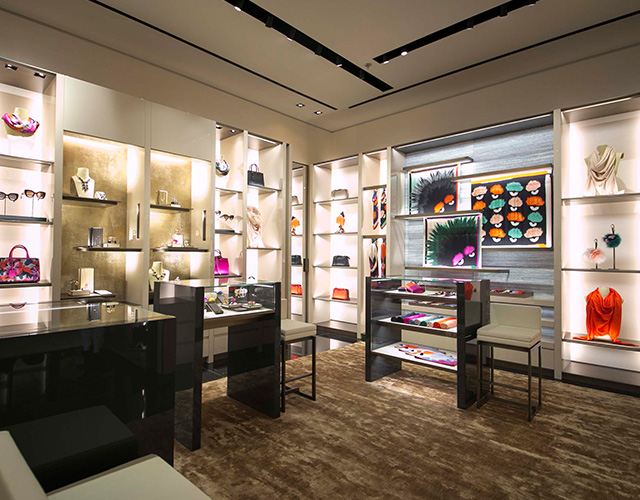 Exclusive: Go Inside the New Fendi Boutique in Mall of the Emirates