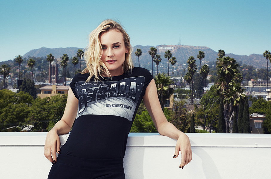 Exclusive First Look: Diane Kruger for MyTheresa.com