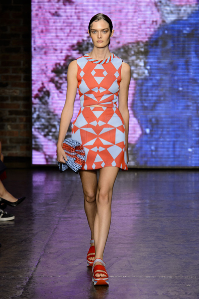 New York Fashion Week Coverage: DKNY Spring 2015 Collection