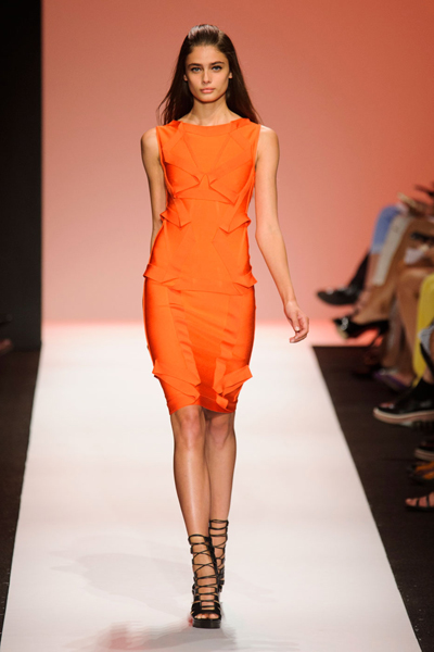 New York Fashion Week Coverage: Hervé Léger by Max Azria Spring 2015 Collection