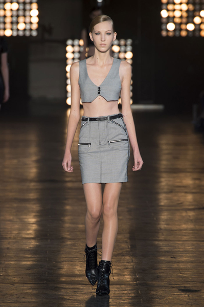 New York Fashion Week Coverage: Diesel Black Gold Spring 2015 Collection