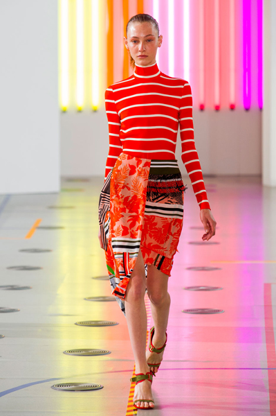 London Fashion Week Coverage: Preen by Thornton Bregazzi Spring 2015 Collection