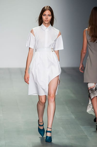 London Fashion Week Coverage : Marios Schwab Spring 2015 Collection