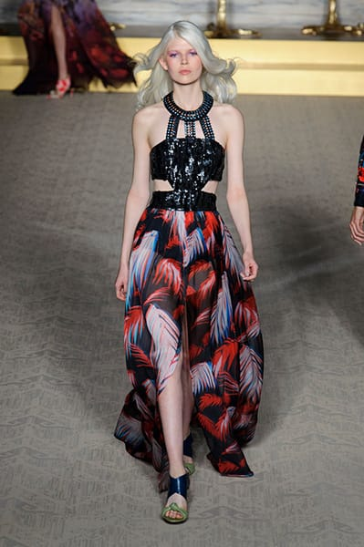 London Fashion Week Coverage: Matthew Williamson Spring 2015 Collection