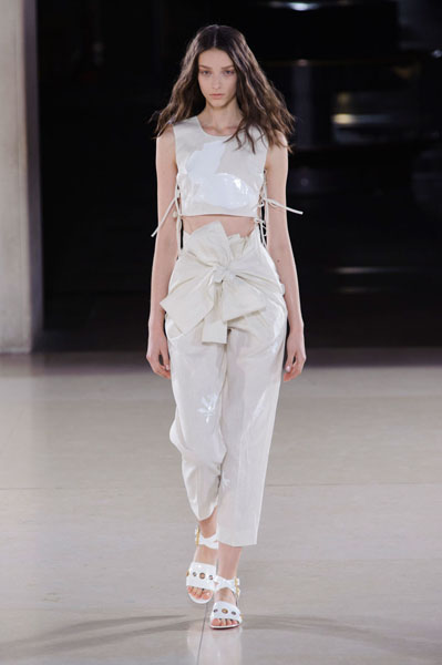 London Fashion Week Coverage: Jonathan Saunders Spring 2015 Collection