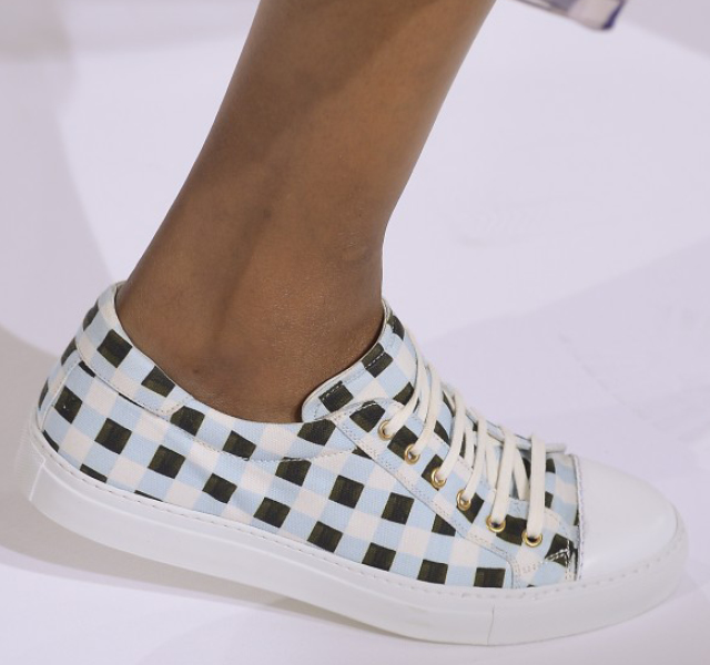 London Fashion Week Coverage: Temperley London's New Sneakers for Spring