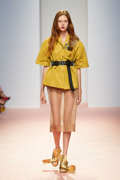 Milan Fashion Week Coverage: N°21 Spring 2015 Collection