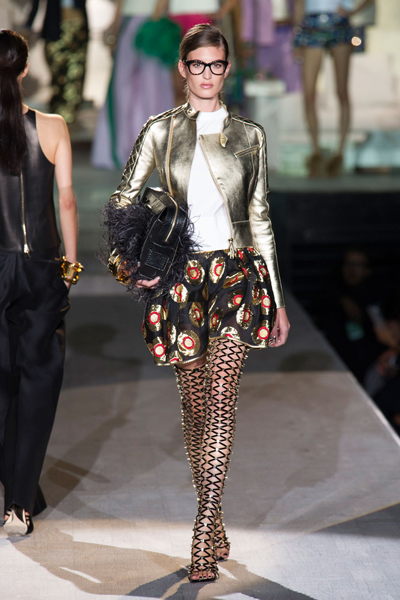 Milan Fashion Week Coverage: DSquared2 Spring 2015 Collection