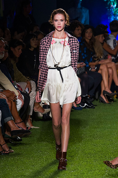 Milan Fashion Week Coverage: Blugirl Spring 2015 Collection