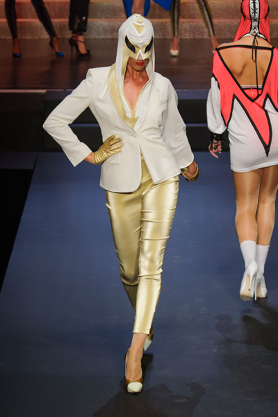 Paris Fashion Week Coverage: Jean Paul Gaultier Spring 2015 Collection