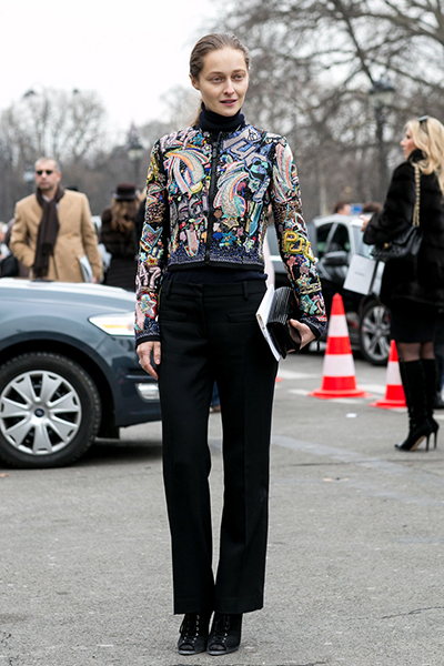 Spring 2015 Couture Week Street Style: The Best Street Style Looks of the Week