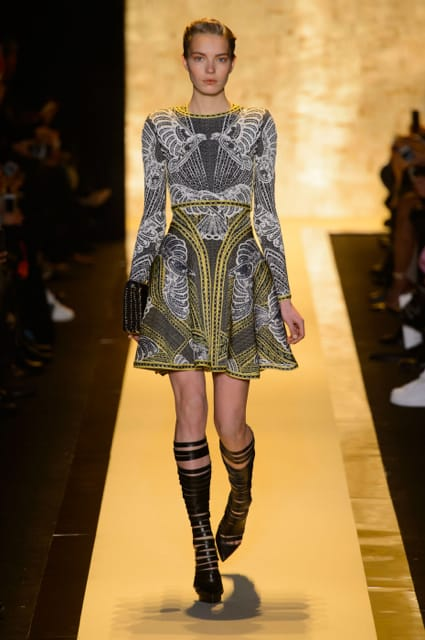 New York Fashion Week Coverage: Hervé LéGer by Max Azria Fall 2015 Collection