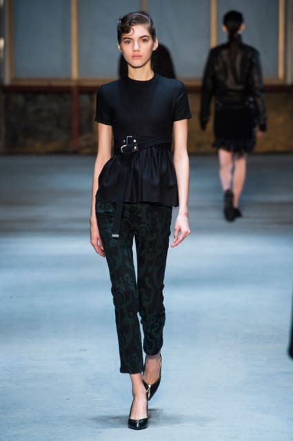 New York Fashion Week Coverage: Diesel Black Gold Fall 2015 Collection