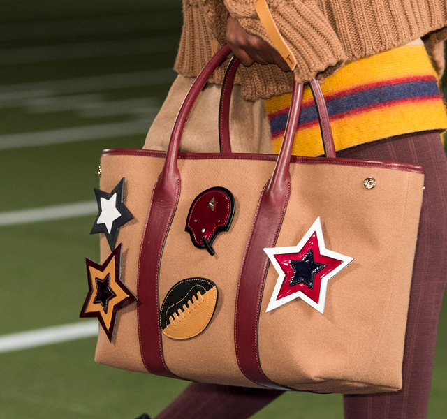 Fall 2015 New York Fashion Week Coverage: Tommy Hilfiger Accessories Take Us out to the Ballgame