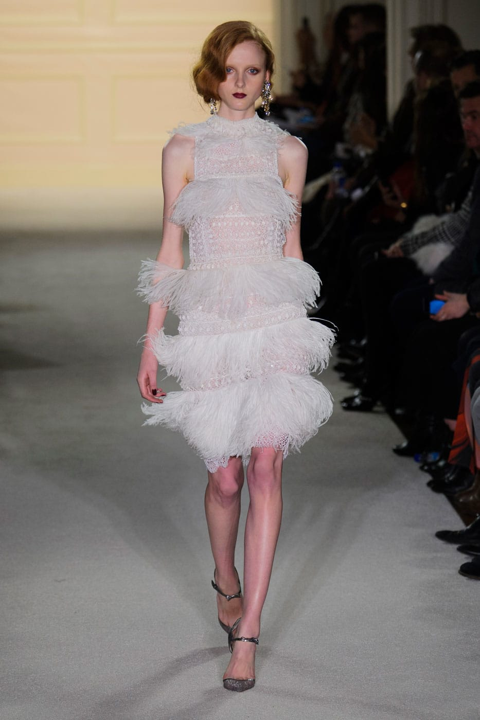 New York Fashion Week Coverage: Marchesa Fall 2015 Collection