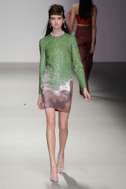 London Fashion Week Coverage: Holly Fulton Fall 2015 Collection