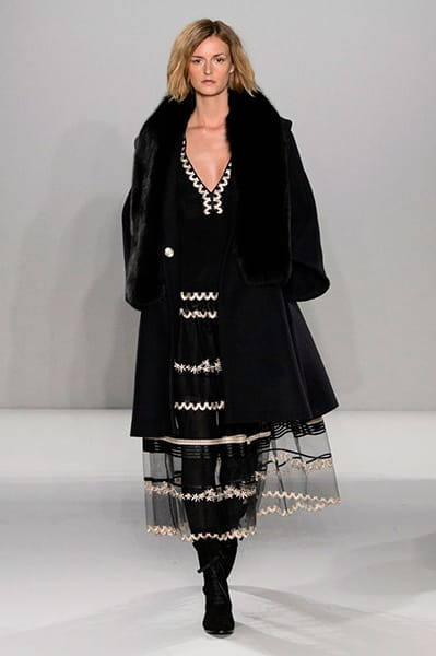 London Fashion Week Coverage: Temperley London Fall 2015 Collection