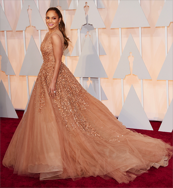 The Best-Dressed Celebrities at the 2015 Oscars