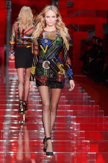 Milan Fashion Week Coverage: Versace Fall 2015 Collection