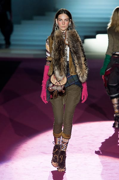 Milan Fashion Week Coverage: DSquared2 Fall 2015 Collection