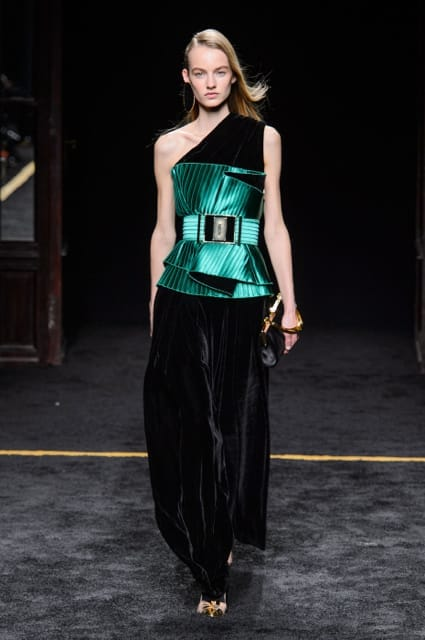 Paris Fashion Week Coverage: Balmain Fall 2015 Collection