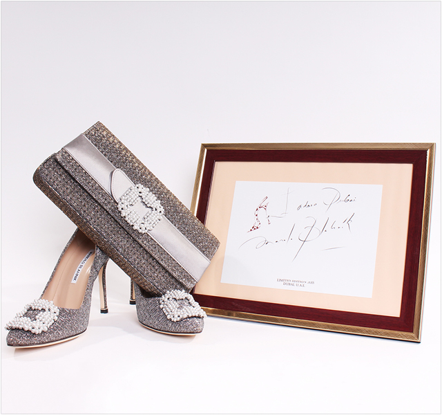 See Manolo Blahnik's Exclusive Collection for the UAE