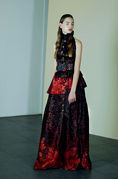 Exclusive First Look: Discover Sandra Mansour's Sublime Fall/Winter 2015 Collection