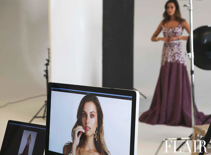 Behind the Scenes of Razan Alazzouni's Spring 2016 Lookbook Shoot
