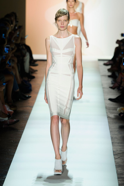 New York Fashion Week Coverage: Hervé LéGer by Max Azria Spring 2016 Collection