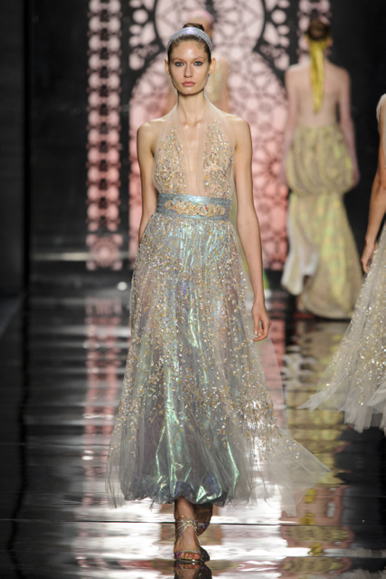 New York Fashion Week Coverage: Reem Acra Spring 2016 Collection
