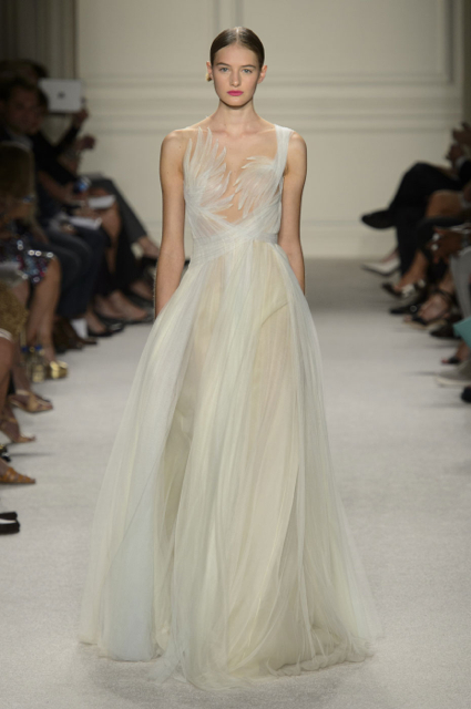 New York Fashion Week Coverage: Marchesa Spring 2016 Collection