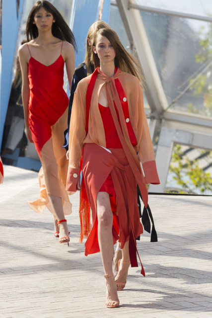 London Fashion Week Coverage: Jonathan Saunders Spring 2016 Collection