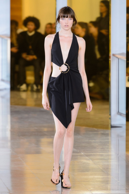 Paris Fashion Week Coverage: Anthony Vaccarello Spring 2016 Collection