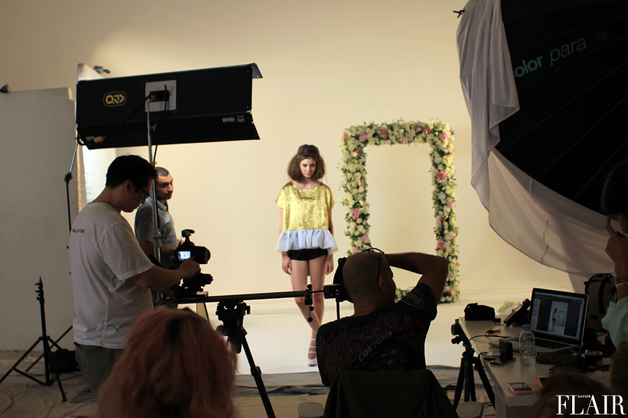 Behind the Scenes: Zayan Spring 2013 Shoot