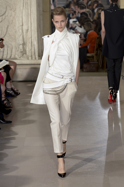 Paris Fashion Week Coverage: Bouchra Jarrar Fall 2013 Couture Collection