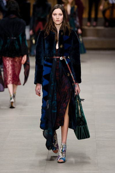 London Fashion Week Coverage: Burberry Prorsum Fall 2014 Collection