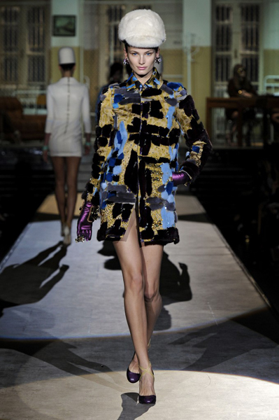 Milan Fashion Week Coverage: DSquared2 Fall 2014 Collection