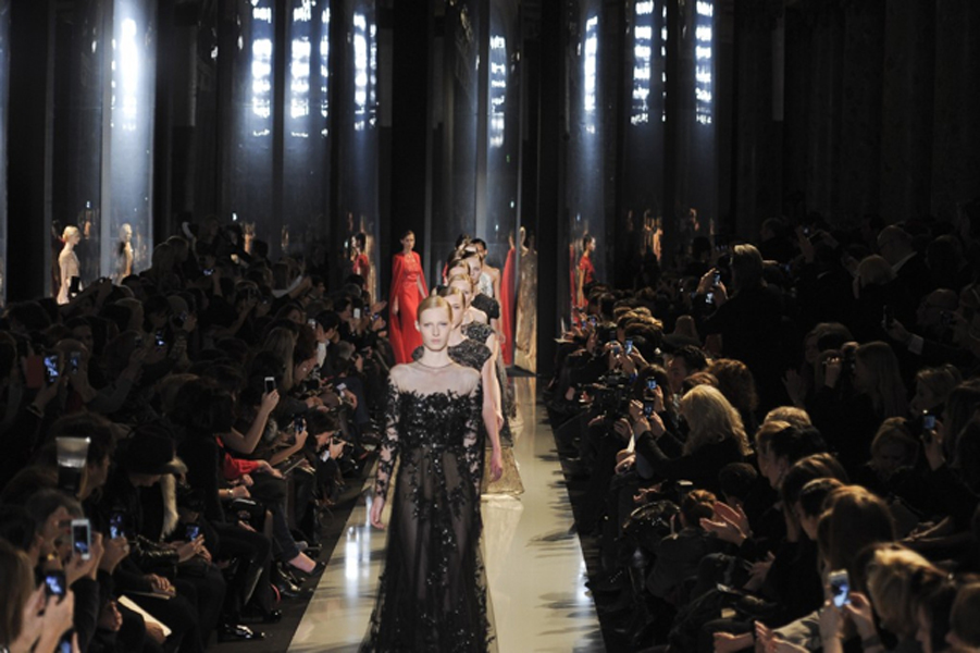 Paris Fashion Week Coverage: Elie Saab Spring 2013 Couture