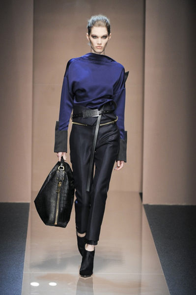 Milan Fashion Week Coverage: Gianfranco Ferré Fall 2013