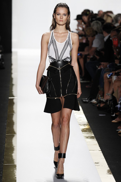 New York Fashion Week Coverage: Hervé Léger by Max Azria Spring 2014 Collection
