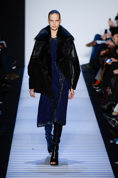 New York Fashion Week Coverage: Hervé LéGer by Max Azria Fall 2014 Collection